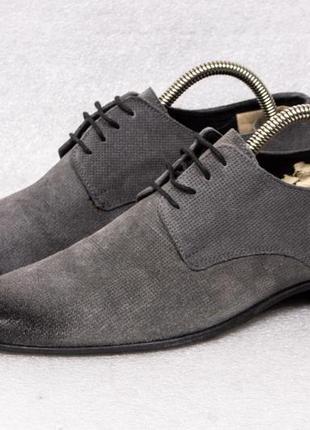 Antony morato р 40-41 - 27 см туфли мужские замшевые