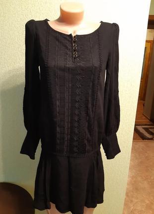 # розвантажуюсь.черное платье с заниженой талией