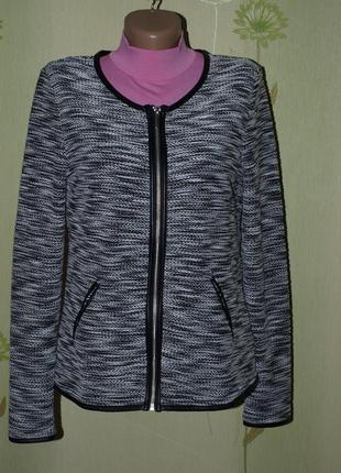 #розвантажуюсь !классный пиджак,кофта, жакет, кардиган, на молнии s-m в идеале- esmara