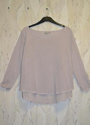 Новая брендовая хлопковая (100%) блуза на подкладке nile, р. м