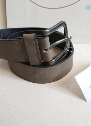 Мужской ремень французского бренда kiabi европа оригинал нюанс
