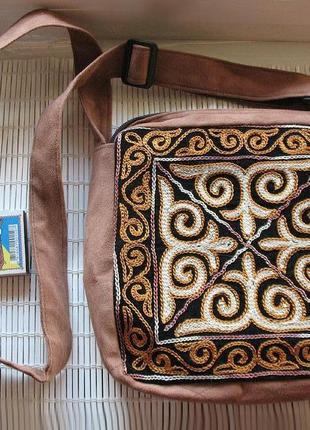 #розвантажуюсь текстильная сумка, сумочка с вышивкой в стиле этно и бохо. из узбекистана
