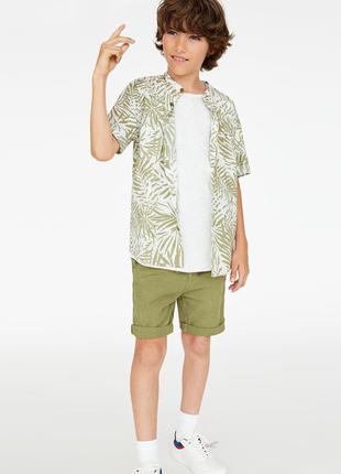 Рубашка zara с принтом на 10 и 14 лет