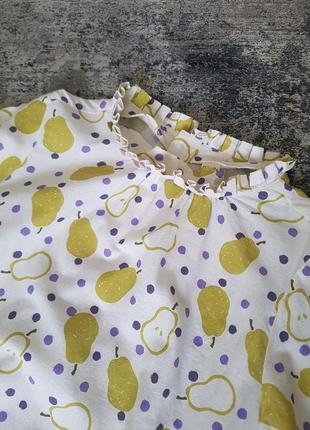Платье 100% organic cotton oversize