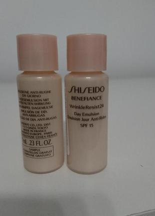 Эмульсия shiseido benefiance wrinkle resist 24