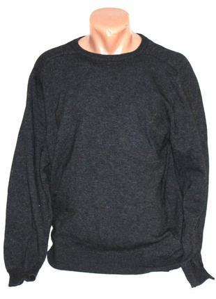 Фирменный свитер тонкая шерсть, l.o.g.g. s 46/48