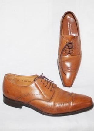Туфли шнурок кожа от люксовой тм patrick hellmann (германия)