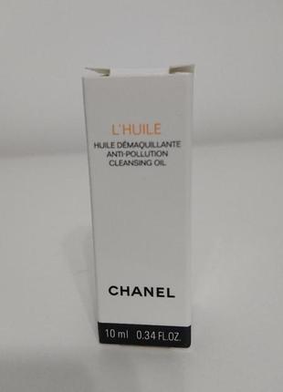 Масло для снятия макияжа chanel l'huile