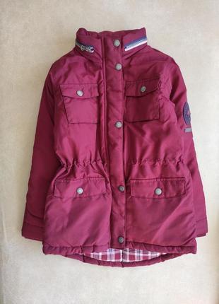 Подовдена куртка soulcal&co з карманами і затяжками з боків
