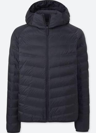 Куртка пуховик мужской uniqlo seamless