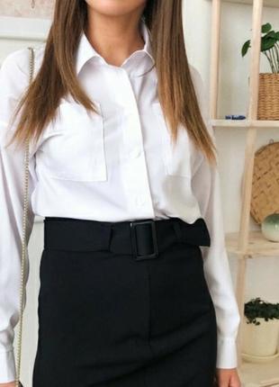 Белая рубашка2 фото