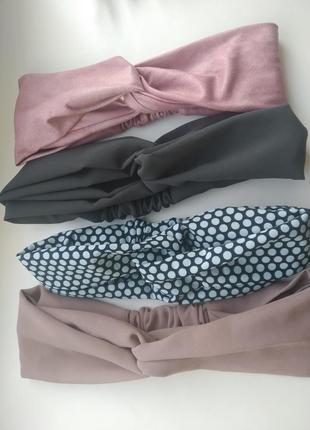 #розвантажуюсь комплект из 4 шт повязки чалма тюрбан аксессуары для волос
