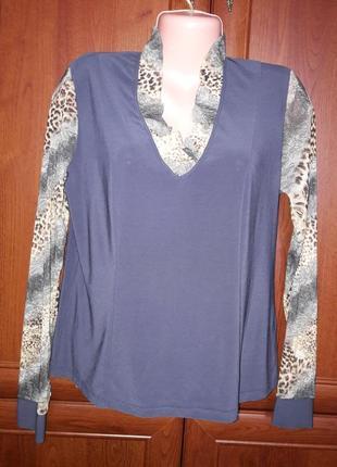 Трикотажная блуза