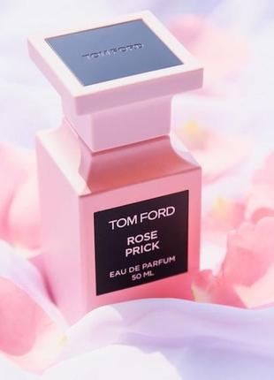 Tom ford rose prick_original eau de parfum 3 мл затест_парфюм.вода
