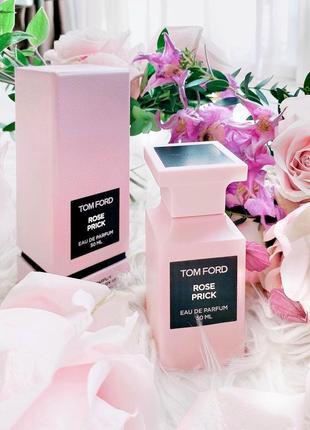 Rose prick tom ford_original  eau de parfum 5 мл затест_ туал.духи