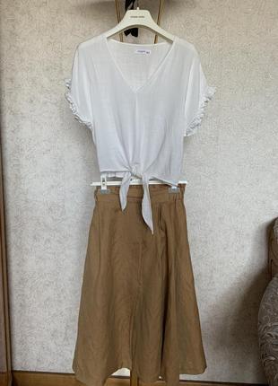 Юбка футболка блузка reserved