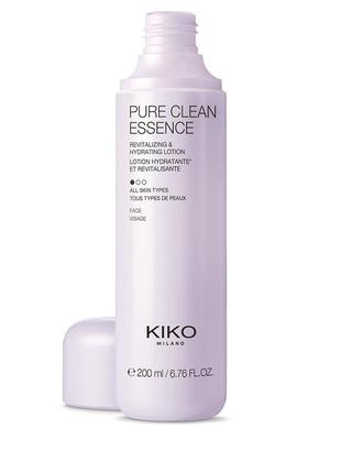 Pure clean essence. kiko milano