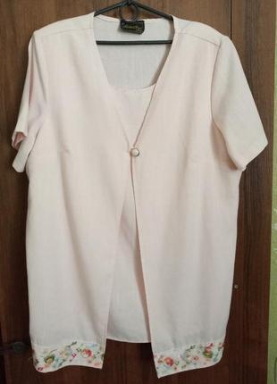 Двойная блуза