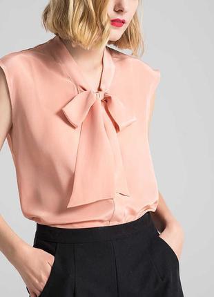 Блузка с бантом marks&spenser 16--52 размер.