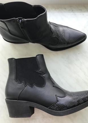 Продам ботинки/казаки