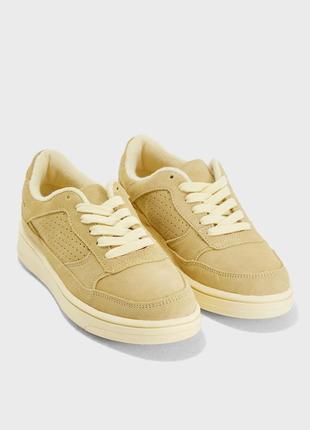 Кожаные замшевые кроссовки mango - 38