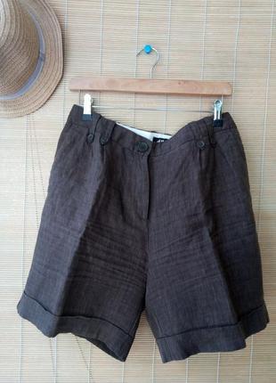 Льняные шорты, бермуды