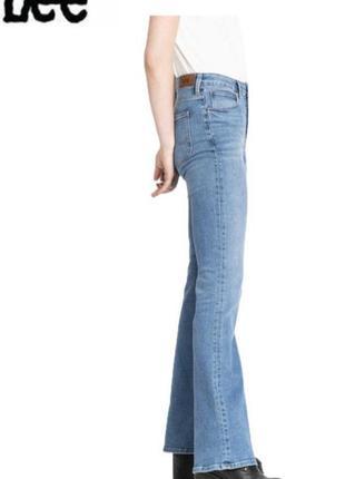 Легендарные винтажные женские джинсы клеш lee