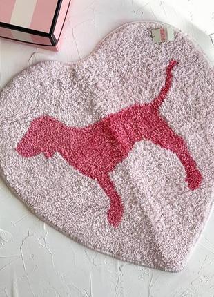 Маленький коврик для ванной victoria's secret pink оригинал