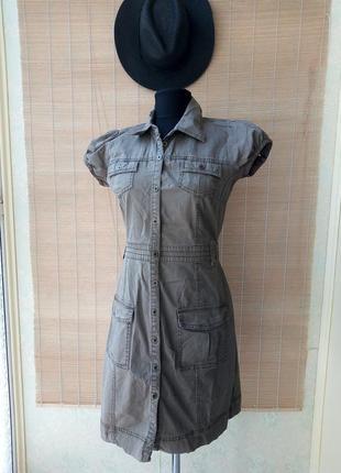 #розвантажуюсь платье-рубашка, сафари