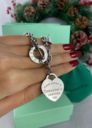 Массивный и эффектный браслет  в стиле tiffany & co😍😘💕