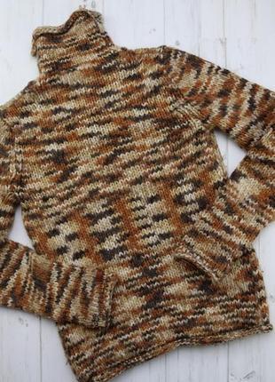 Вязаный теплый свитер женский columbia