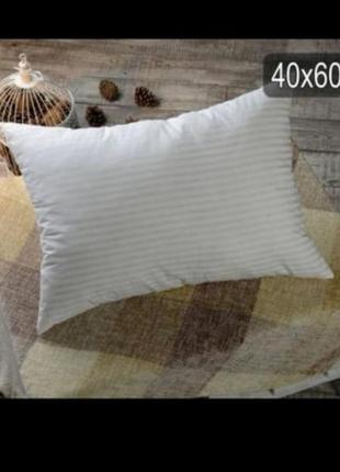 Подушка холлофайбер бязь