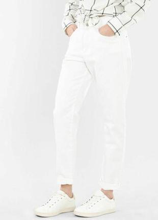 Стильные джинсы mom светлые с высокой посадкой бойфренды 44 16 50 оттенков серого