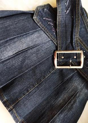 Классная джинсовая юбка