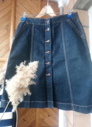 Юбка джинсовая тренд р.44 от gap
