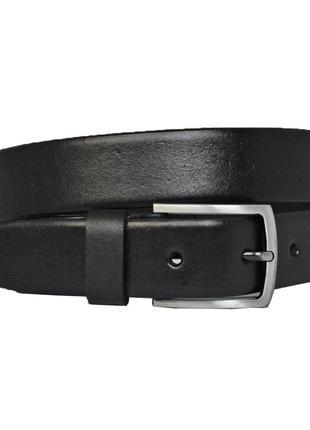 Tandem777 черный кожаный мужской ремень кожанный пояс брючный классический