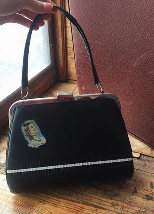 Винтаж сумка/клатч