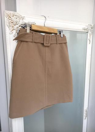 Стильная юбка с поясом от f&f с-м