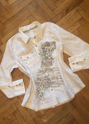 Оригинальная рубашка,блузка ,кежуал,хлопок ,bonita