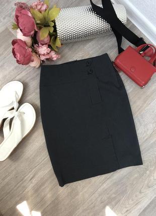 #розвантажуюсь полосатая юбка карандаш, офисная  юбка карандаш mango
