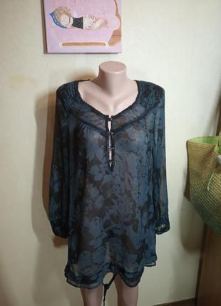 Блуза шифоновая большого размера 20