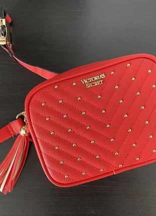 Поясная сумка кросс боди через плече victoria's secret виктория сикрет