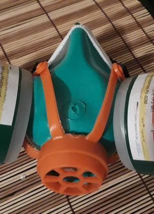 Настоящая многоразовая полу маска респиратор сменные угольные фильтры ffp2