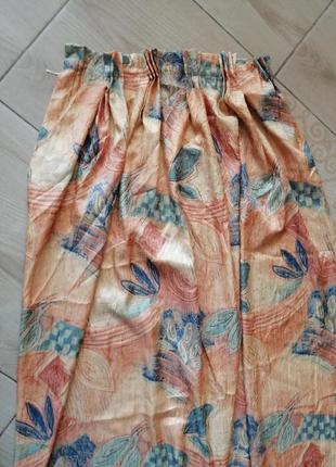 Довгі гарні елегантні якісні штори 3 екземпляри