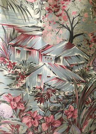 Платок домики в саду feliciani