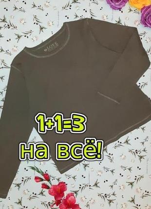 🌿1+1=3 базовый свитер гольфик водолазка лонгслив хаки bhs, размер 52 - 54