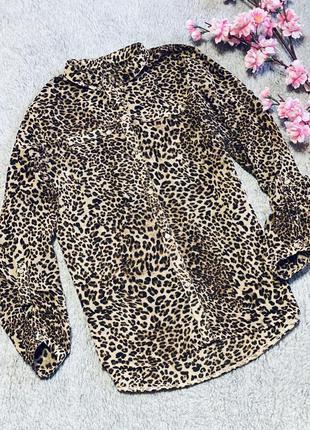 Рубашка в тигровый принт, тигровая рубашка