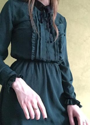 Платье cropp с завязочками