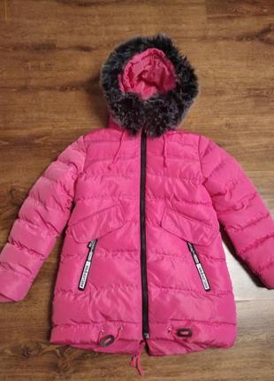 Куртка зимняя парка k&n польша на 9-10л