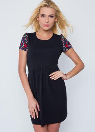 Чёрное платьице от nenka, можно для беременных